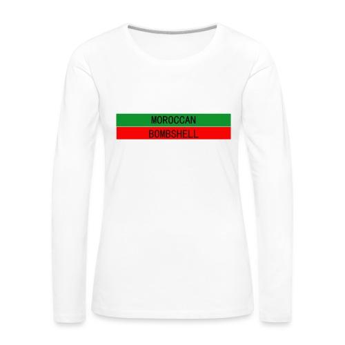 Moroccan Bombshell - Frauen Premium Langarmshirt