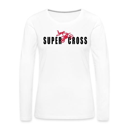 air Supercross - T-shirt manches longues Premium Femme
