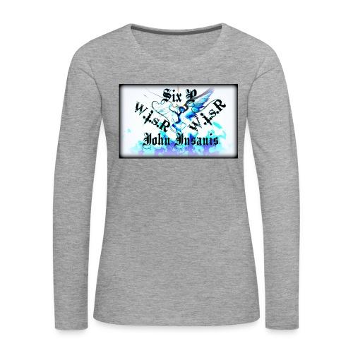 Six P&John Insains Deamon WisR - Naisten premium pitkähihainen t-paita