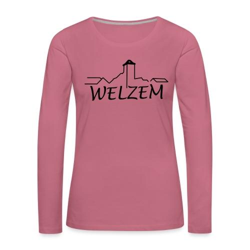 Welzem - Frauen Premium Langarmshirt