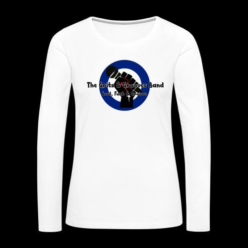 Grits & Grooves Band - Women's Premium Longsleeve Shirt