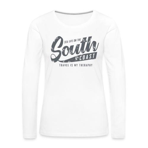 South Coast Sea surf clothes and gifts GP1305B - Naisten premium pitkähihainen t-paita