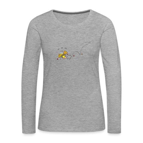 Oei Oei Vogeltje - Vrouwen Premium shirt met lange mouwen