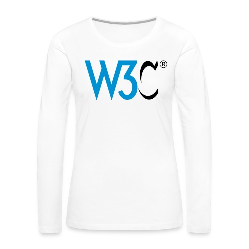 w3c - Women's Premium Longsleeve Shirt