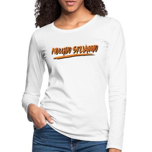 Mucchio Selvaggio 2016 Dirty Orange - Maglietta Premium a manica lunga da donna