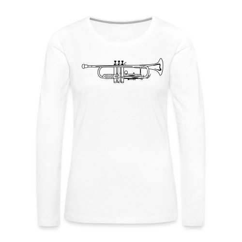 Trumpet - Women's Premium Longsleeve Shirt
