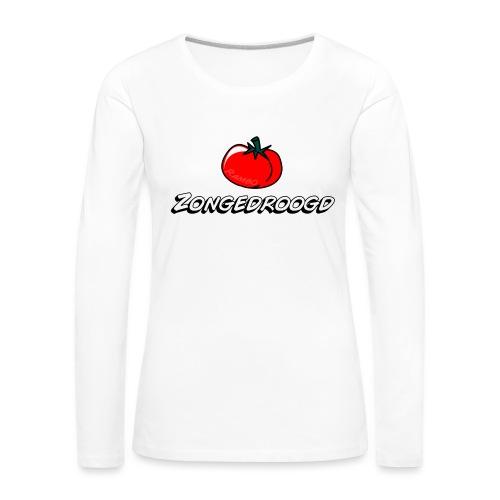 ZONGEDROOGD - Vrouwen Premium shirt met lange mouwen