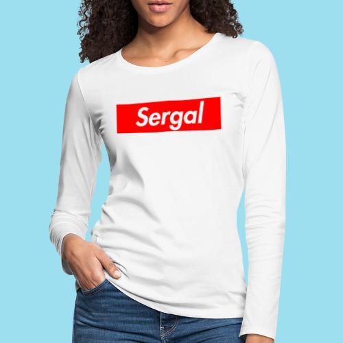 SERGAL Supmeme - Frauen Premium Langarmshirt