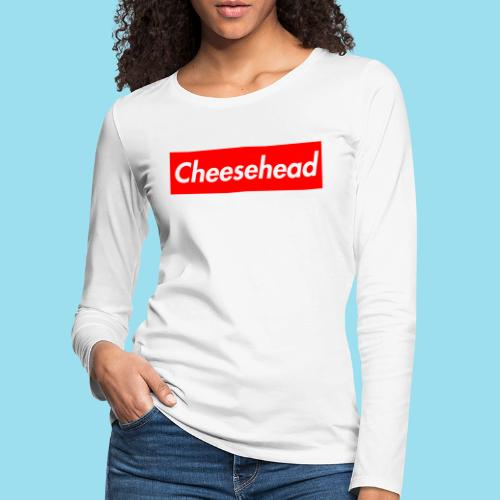CHEESEHEAD Supmeme - Frauen Premium Langarmshirt