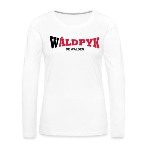 Wâldpyk - Vrouwen Premium shirt met lange mouwen