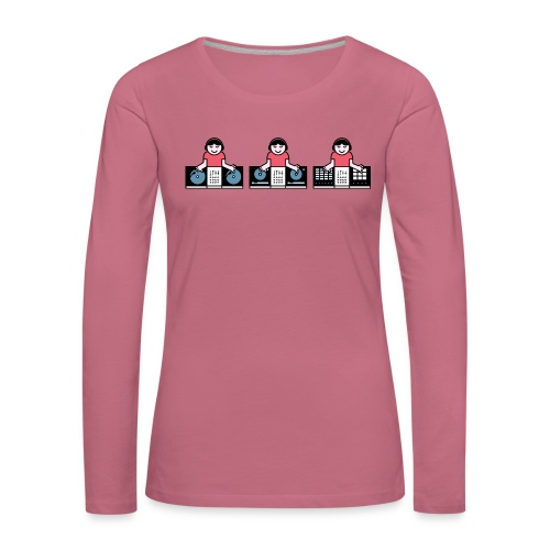 Musical Discovery - Vrouwen Premium shirt met lange mouwen