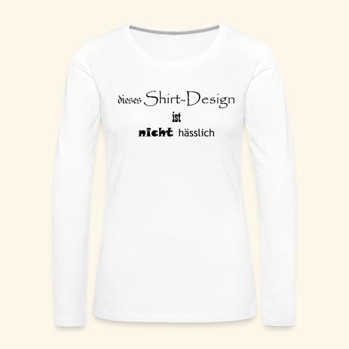 test_shop_design - Frauen Premium Langarmshirt