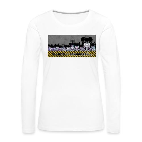#MarchOfRobots ! LineUp Nr 2 - Dame premium T-shirt med lange ærmer