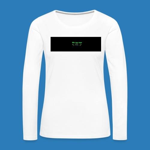 tetete-png - Dame premium T-shirt med lange ærmer