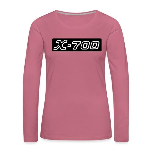 Minolta X-700 - Maglietta Premium a manica lunga da donna