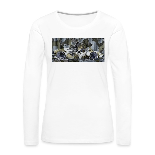 calavera style - Women's Premium Longsleeve Shirt