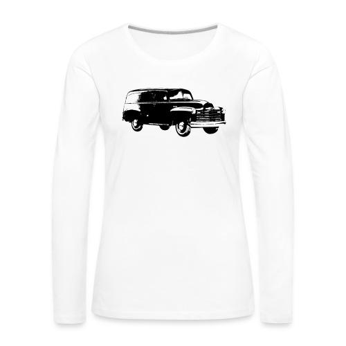 1947 chevy van - Frauen Premium Langarmshirt