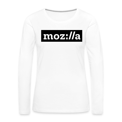 mozilla logo - Women's Premium Longsleeve Shirt