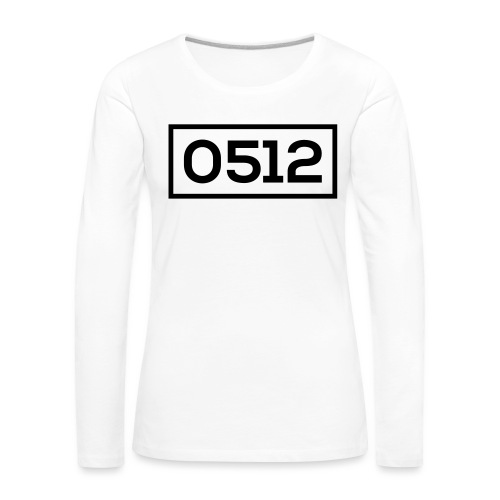 0512 - Vrouwen Premium shirt met lange mouwen