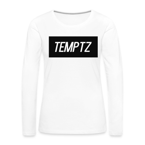 TempTz Orignial Hoodie Design - Women's Premium Longsleeve Shirt