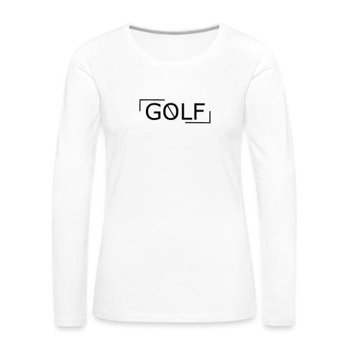vague - T-shirt manches longues Premium Femme