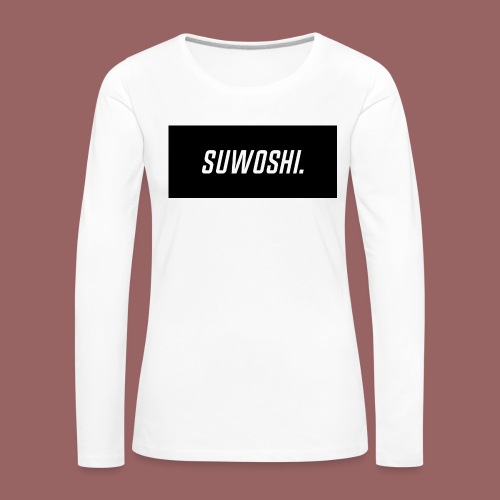 Suwoshi Sport - Vrouwen Premium shirt met lange mouwen