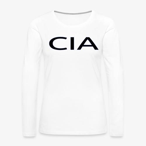 CIA - Women's Premium Longsleeve Shirt