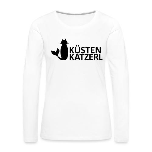 Küstenkatzerl - Frauen Premium Langarmshirt