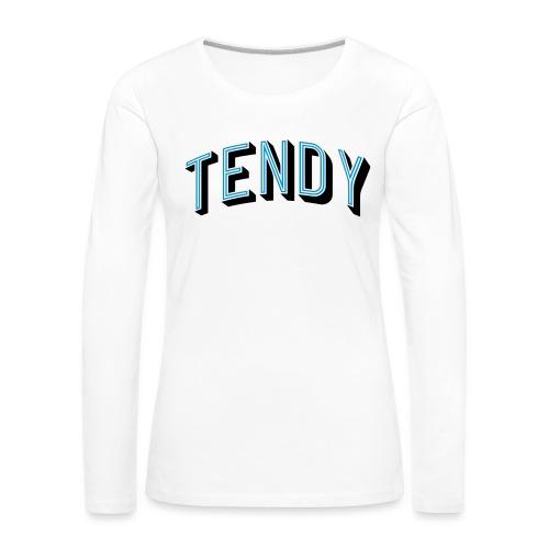 Hockey Goaltender - Tendy - Women's Premium Longsleeve Shirt