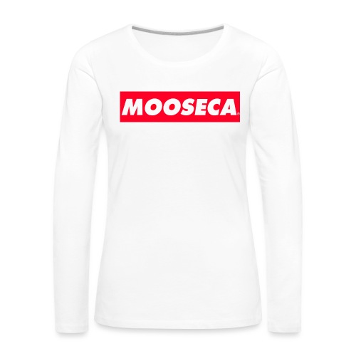 MOOSECA CAP - Maglietta Premium a manica lunga da donna