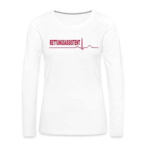 Rettungsassistent - Frauen Premium Langarmshirt