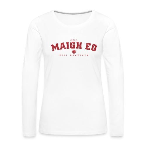 mayo vintage - Women's Premium Longsleeve Shirt
