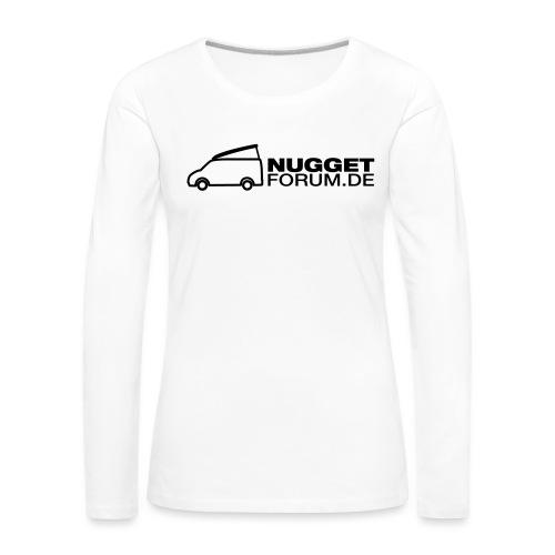 Nuggetforum Aufkleber Auf - Frauen Premium Langarmshirt
