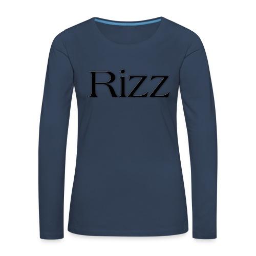 cooltext193349288311684 - Women's Premium Longsleeve Shirt