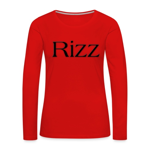 cooltext193349288311684 - Women's Premium Longsleeve Shirt