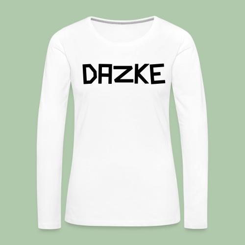 dazke_bunt - Frauen Premium Langarmshirt
