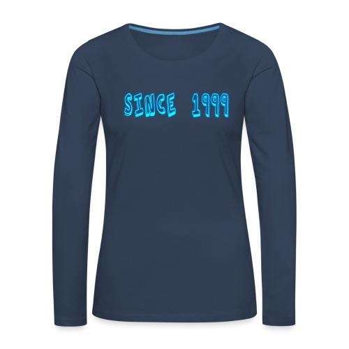 Since 1999 - Naisten premium pitkähihainen t-paita