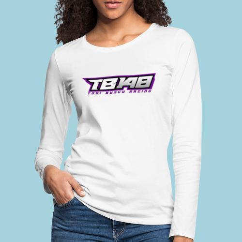 Tob Logo Lila - Frauen Premium Langarmshirt