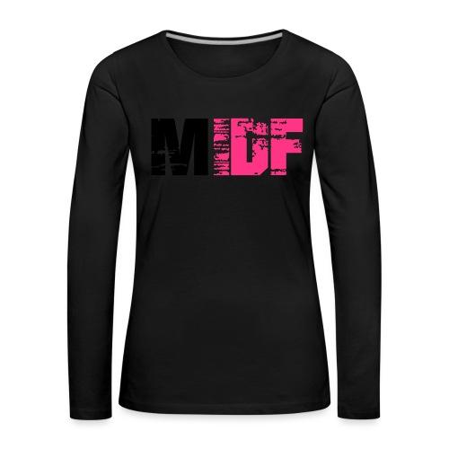 Logo MIDF 2 - T-shirt manches longues Premium Femme
