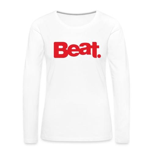 Beat Bunny - Women's Premium Longsleeve Shirt