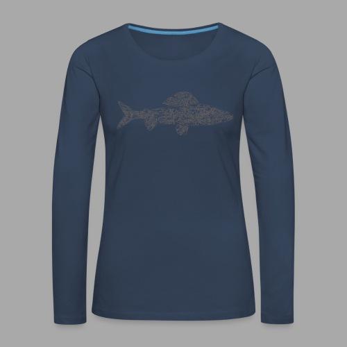 grayling - Naisten premium pitkähihainen t-paita