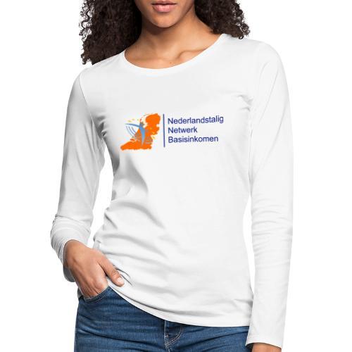nederlandstalignetwerkbasisinkomen - Vrouwen Premium shirt met lange mouwen