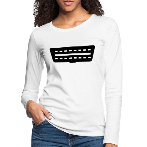 OBD II Port - Naisten premium pitkähihainen t-paita
