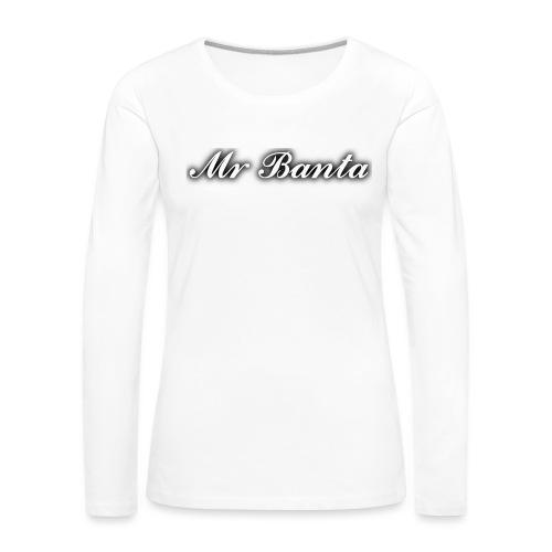 italic banta - Women's Premium Longsleeve Shirt