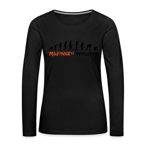 madonnaro evolution original - Women's Premium Longsleeve Shirt