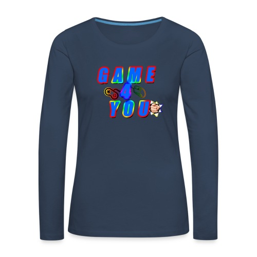 Game4You - Women's Premium Longsleeve Shirt