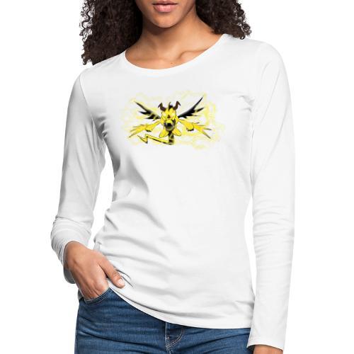 Fulgur il drago elettrizzante - Maglietta Premium a manica lunga da donna