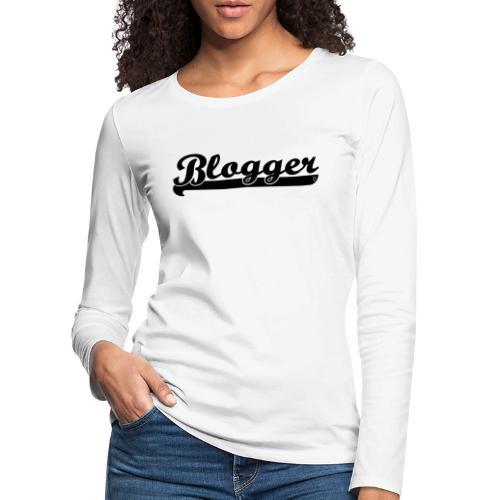 0184 Blogger | Blog | Buchblogger | Bookrebels - Women's Premium Longsleeve Shirt