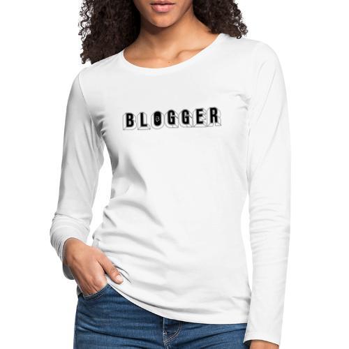 0181 Blogger | Blog | Website | Homepage - Women's Premium Longsleeve Shirt