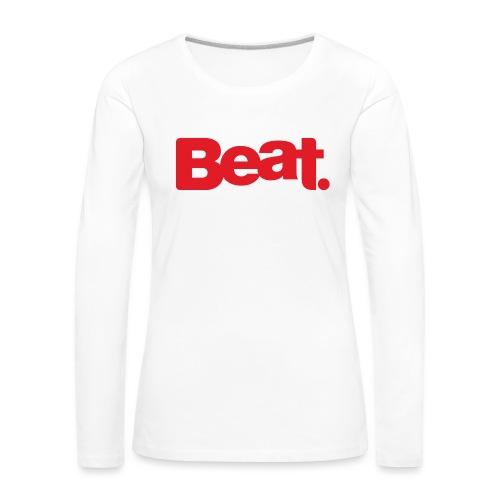 Beat Mug - Women's Premium Longsleeve Shirt